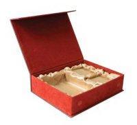 бархатная подарочная коробка