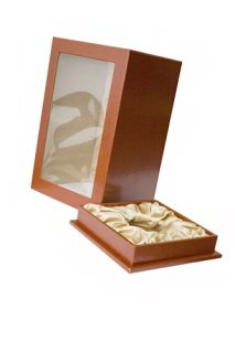 кожаная коробка для кукол